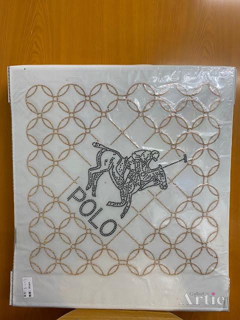 Hotfix stickers dmc rhinestone aplikasi tudung bawal fabrik pakaian pemain polo hitam