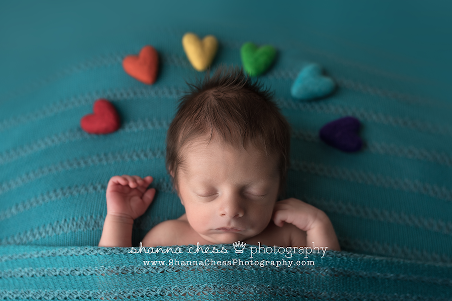rainbow baby photographer eugene oregon