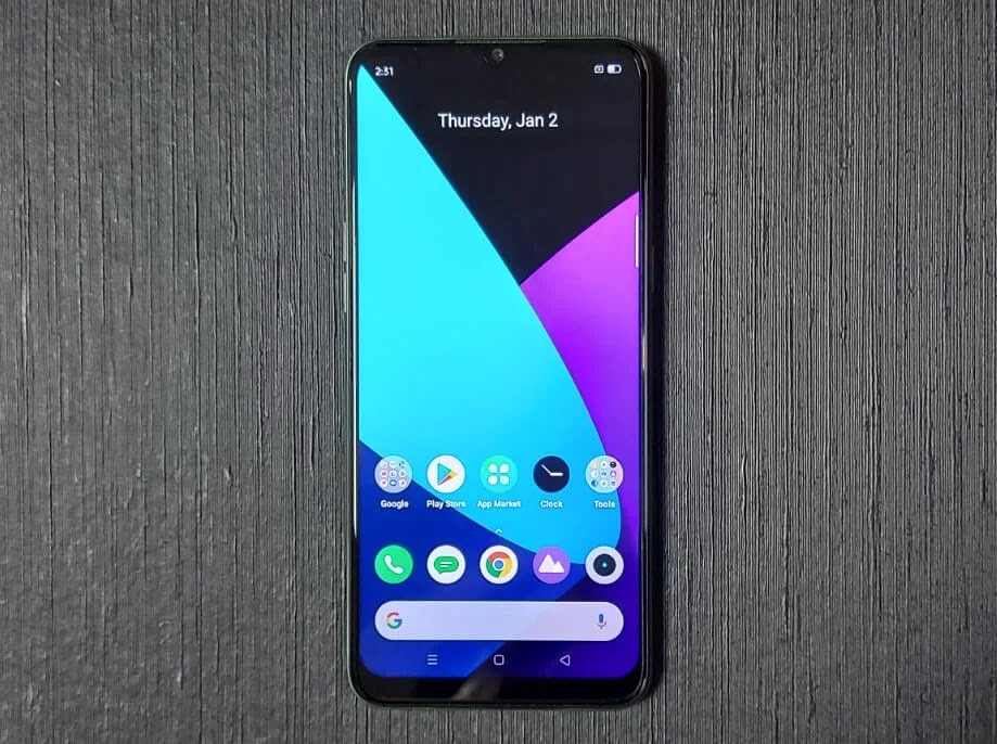 Realme 6i 6.5-inch Mini-Drop FullScreen Display