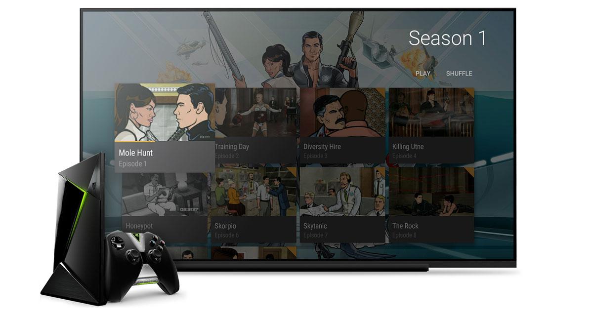 Nvidia Shield gets Plex server, Netflix HDR, Dolby Atmos