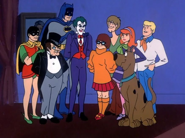 Scooby Doo Batman and Robin