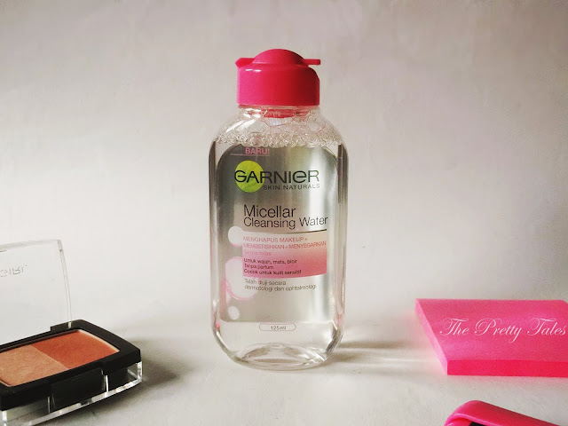 garnier micellar cleansing water pink untuk kulit sensitif review
