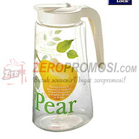 Lock & Lock Water Pitcher PET 1.7 L Pear design HAP718P