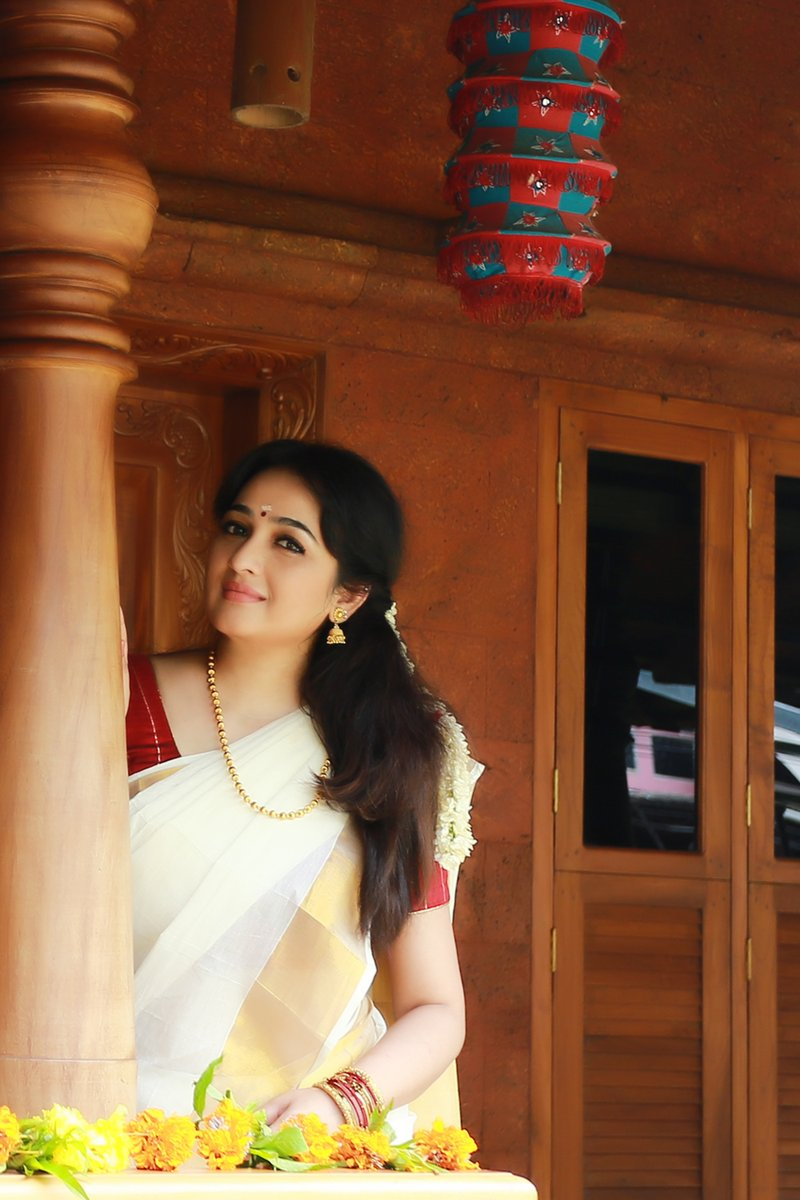 Malayalam Actress Aavaana Onam Photoshoot