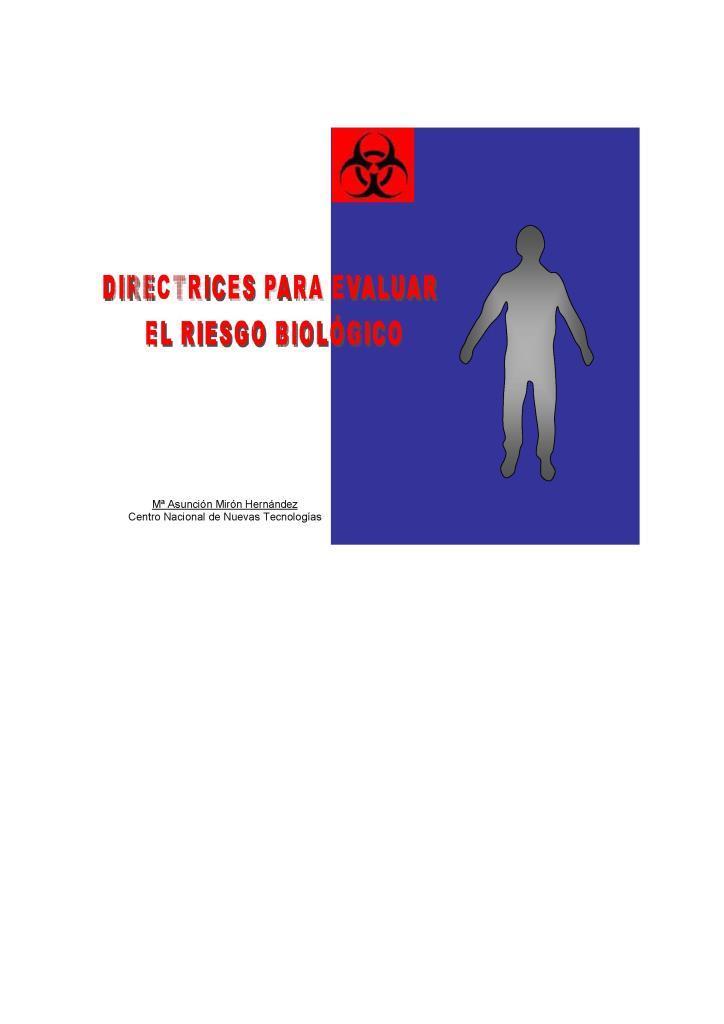 Directrices para evaluar el riesgo biológico