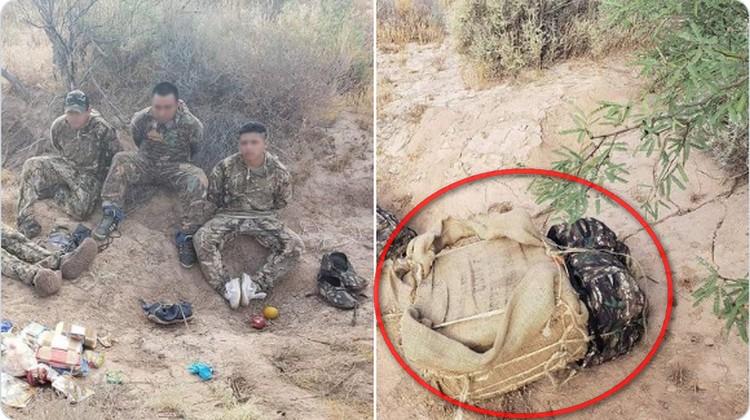 """Caen 5 jóvenes utilizados como """"burros"""", cargados con pacas de metanfetaminas y marihuana a orillas de Arizona"""