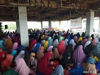 Khataman Quran dan Kajian Dhuha Muhasabah Awal Tahun di Pesantren Tahfizh Daarul Quran Kaltara 20200101 - Kajian Islam Tarakan