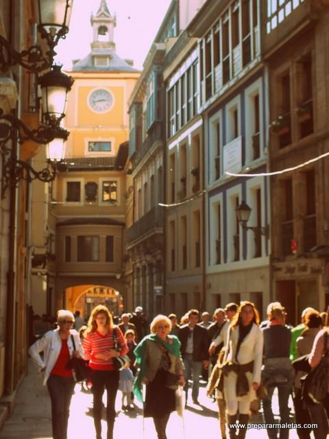 las calles más bonitas de Oviedo