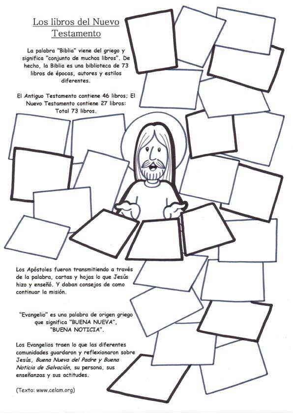 ACTIVIDADES DE LA BIBLIA GRADOS 4 Y 5