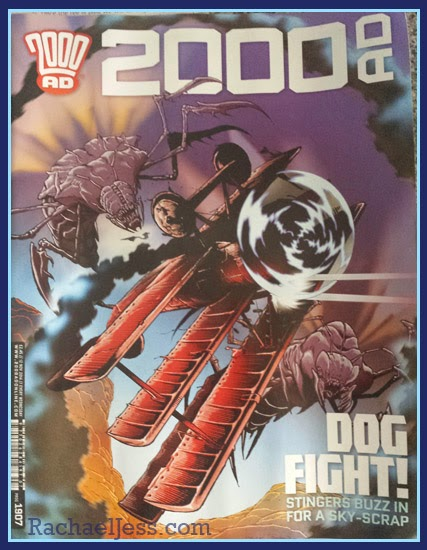 My Geek Box Goodies - 2000 AD