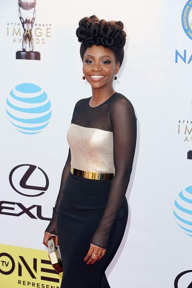 Teyonah Parris on Red Carpet at NAACP
