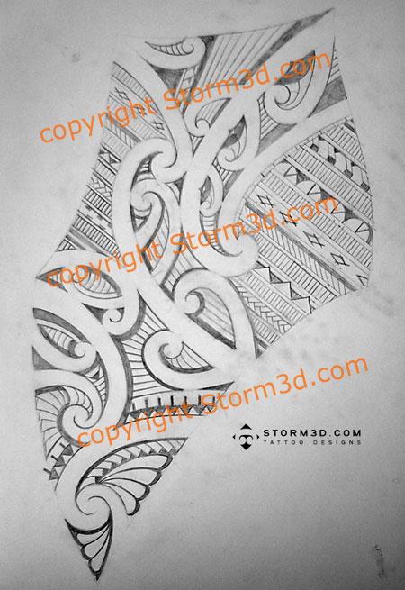 Custom Maori Tattoo Designs: Maori Inspired Tattoo Designs And Tribal Tattoos Images