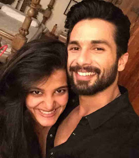 Shahid Kapoor With His Half-Sister