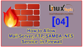 How to Allow Mail Server Samba FTP and NFS Firewall | Allow SMTP IMAPs and POP3 in Firewall