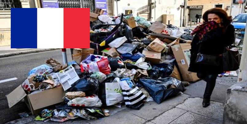 les grèves à Paris, les poubelles s'accumulent et la peur des rats