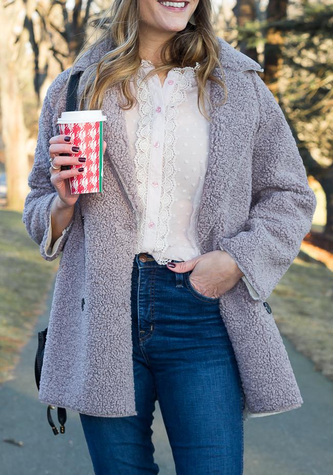 Cozy Sherpa Coat