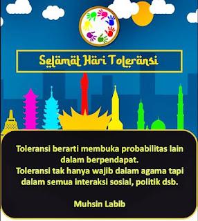 Ucapan Selamat Hari Toleransi Internasional