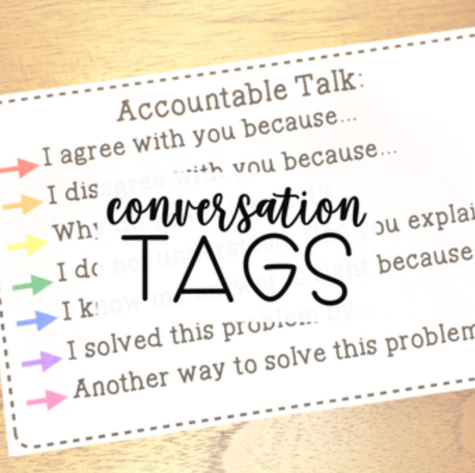 Accountable Talk - Talking Stems for Primary Grades | Best Selling Teacher Resource
