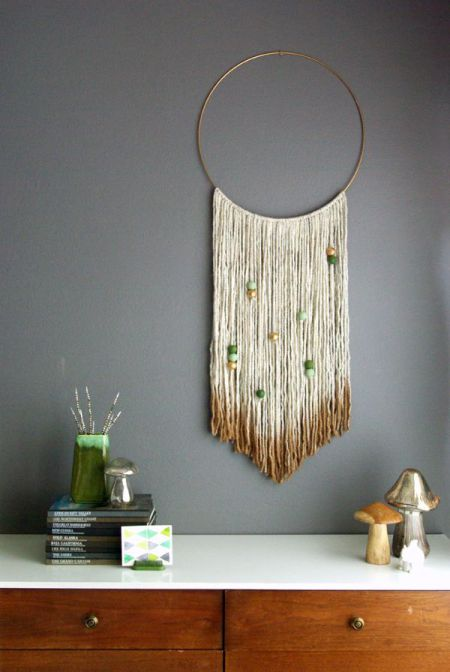 Tapices diy ideales para decorar tus paredes