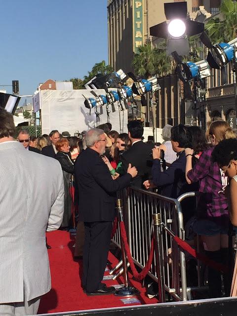 Raquel Stecher & Leonard Maltin 2016 TCM Classic Film Festival Red Carpet
