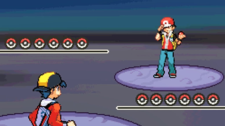 Pokémon HeartGold e SoulSilver Red