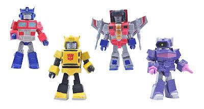 Transformers Generation 1 Minimates Box Set #1 by Diamond Select Toys