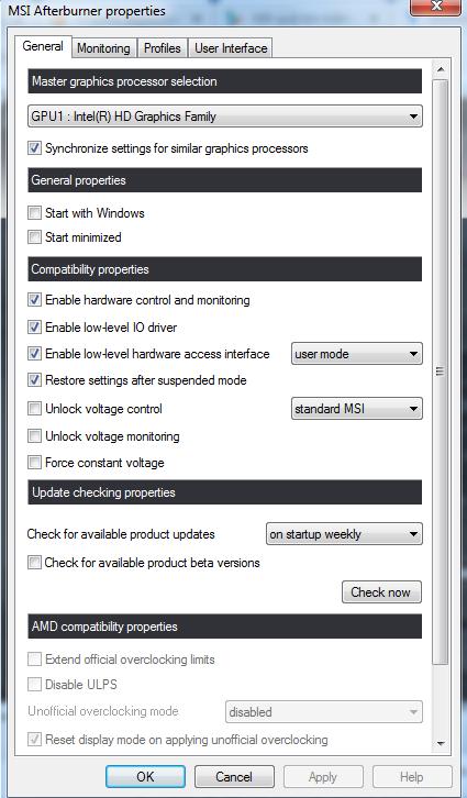 Tải MSI Afterburner - Ép xung card đồ họa máy tính mới nhất b