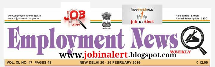 Latest Employment News Paper Pdf
