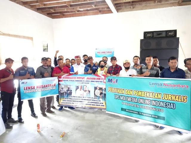 DPW MOI Jatim Gelar Pelatihan Jurnalistik Untuk Cetak  Wartawan Profesional