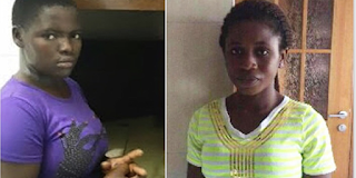 Photos: 2 Lagos Housemaids Defile Employer's Daughters With Fingers, Wooden Sticks