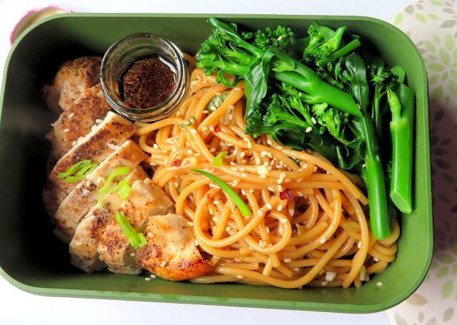 Honey &  Sesame Chicken Noodle Salad