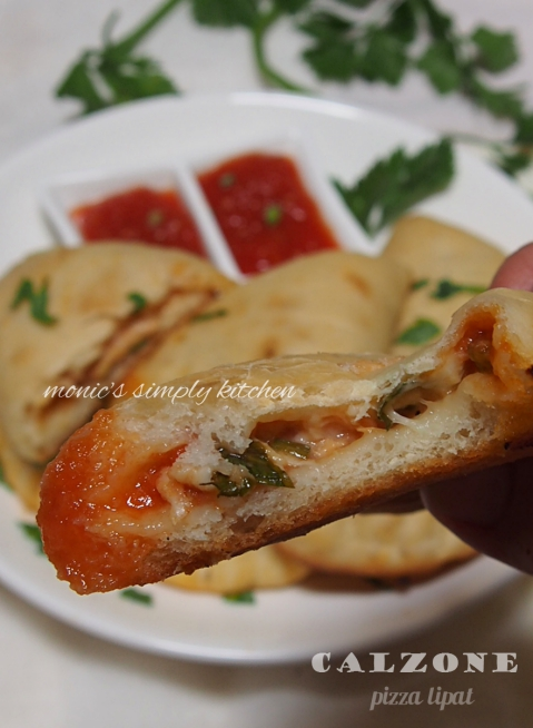 resep pizza lipat calzone