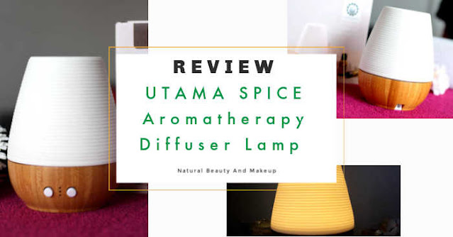 Utama Spice Sonoma Yi aromatherapy diffuser lamp review