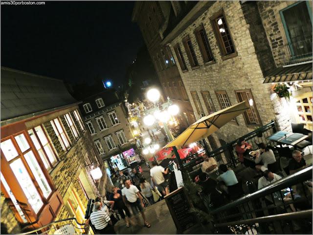 Escaleras Rompe Cuellos en el Viejo Quebec