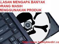 Alasan orang menggunakan software bajakan