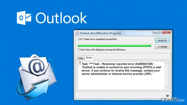 outlook error solution