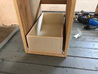 Bottom drawer installed