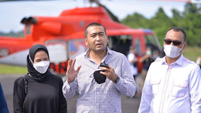 Wagub Audy Joinaldy Ajak Wisatawan  Berwisata di Kepulauan Mentawai