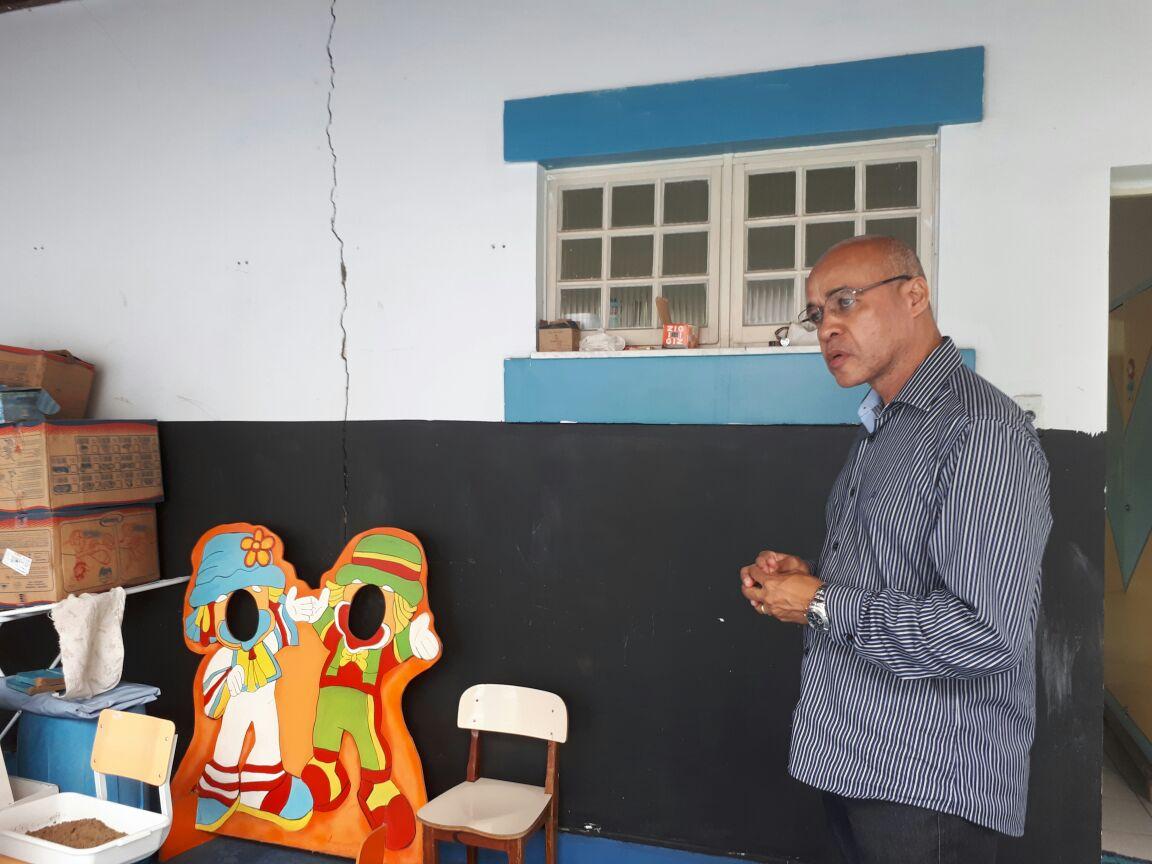 Vereador pastor Washington Uchôa dá continuidade ao projeto de visitas às creches e escolas municipais