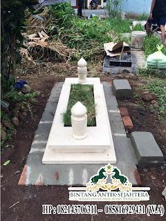 jual makam islam marmer