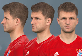 PES 2017 Faces Thomas Mueller by WER Facemaker