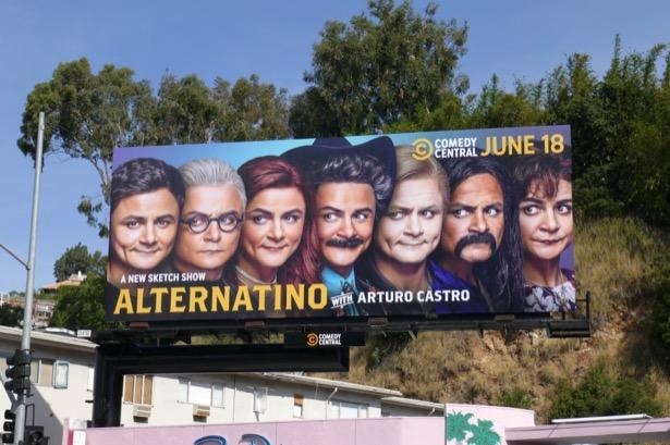 Alternatino Arturo Castro billboard