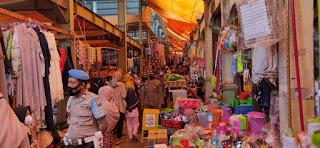 Cegah Peredaran Uang Palsu, Kanit Provos Polsek Alla Patroli Di Pasar Sudu