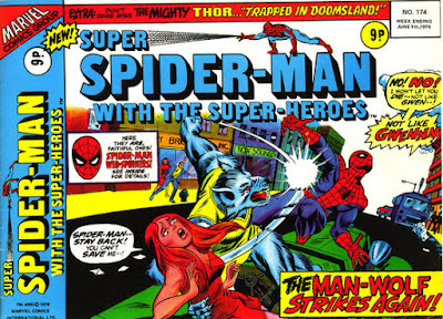 Super Spider-Man with the Super-Heroes #174, Man-Wolf