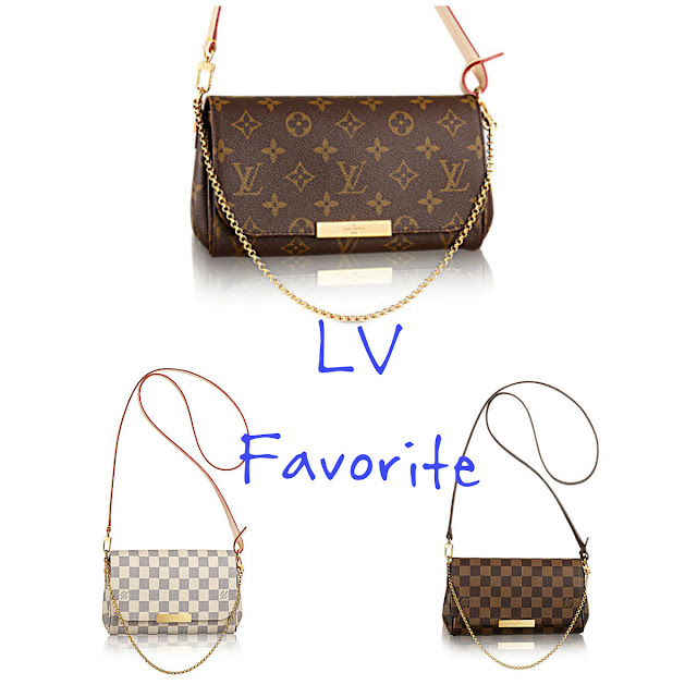 wyjściowa torebka na wieczór Louis Vuittonv favorite