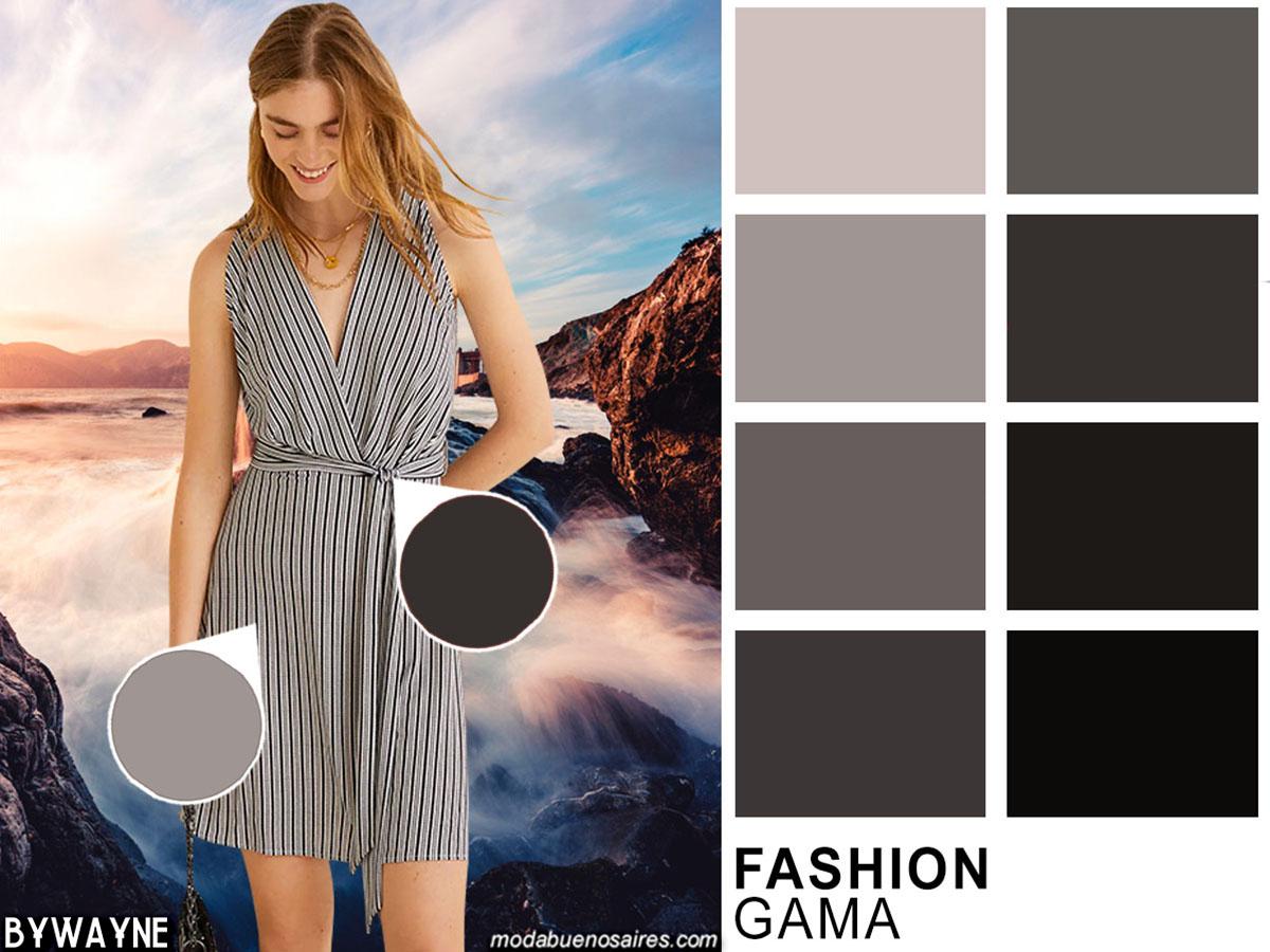Moda primavera verano 2020 colores. Gamas de colores de moda 2020 y sus posibles combinaciones.