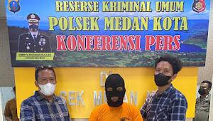 Polsek Medan Kota Ringkus Pemakai Narkoba