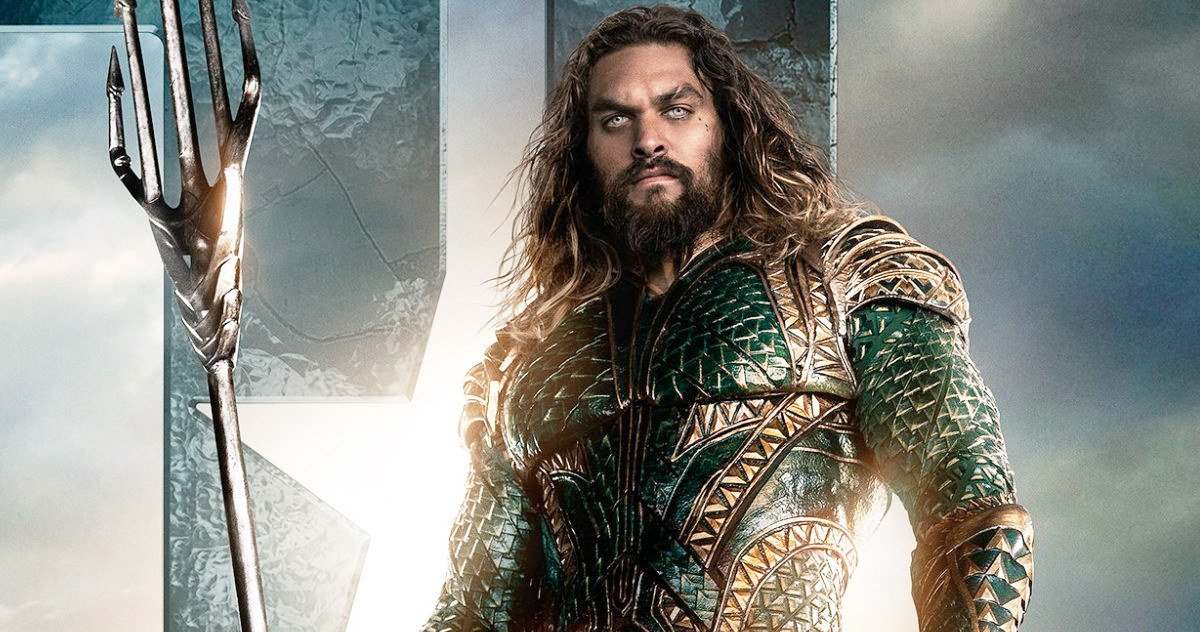 AQUAMAN: First Look At Jason Momoa New Armor As The King Of Atlantis.