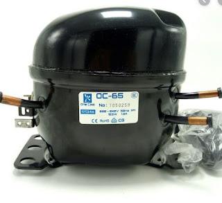 bagian kompresor pada kulkas