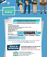 Walk In Interview at CV. Berkat Lancar Sejahtera Surabaya Agustus 2020
